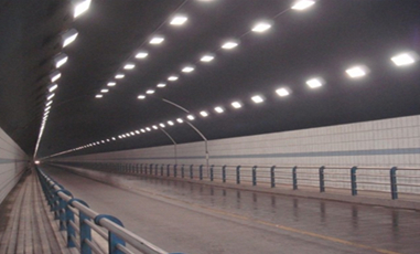 Research on the Application of Energy-Storage Self-luminous Induction System in the Traffic Safety Reconstruction of Low-grade Highway Tunnels