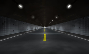 Highway Tunnel Electro-optic Energy-storage Self-luminous Induction System
